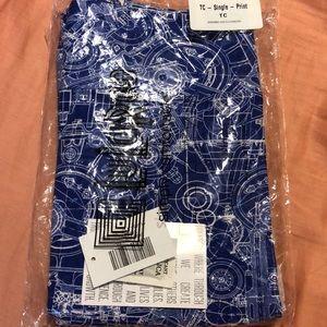 NWT LuLaRoe blueprint leggings